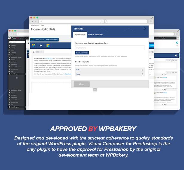 Visual Composer: Page Builder pour Prestashop - 4