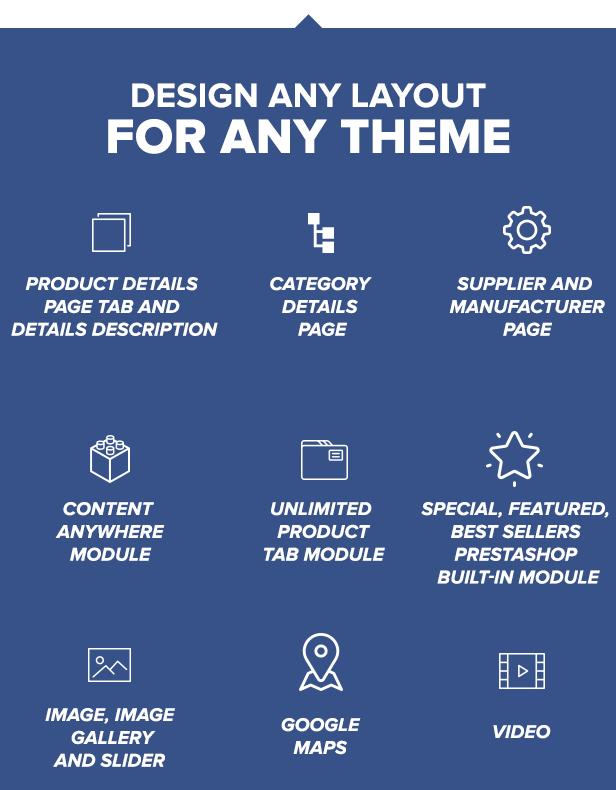 Visual Composer: Page Builder pour Prestashop - 9