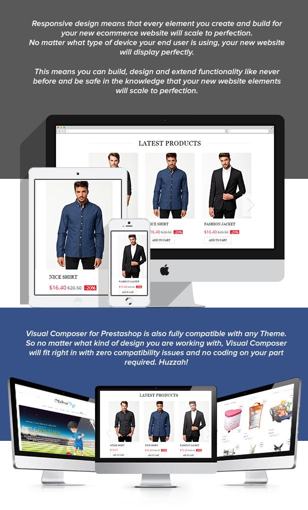 Visual Composer: Page Builder pour Prestashop - 16