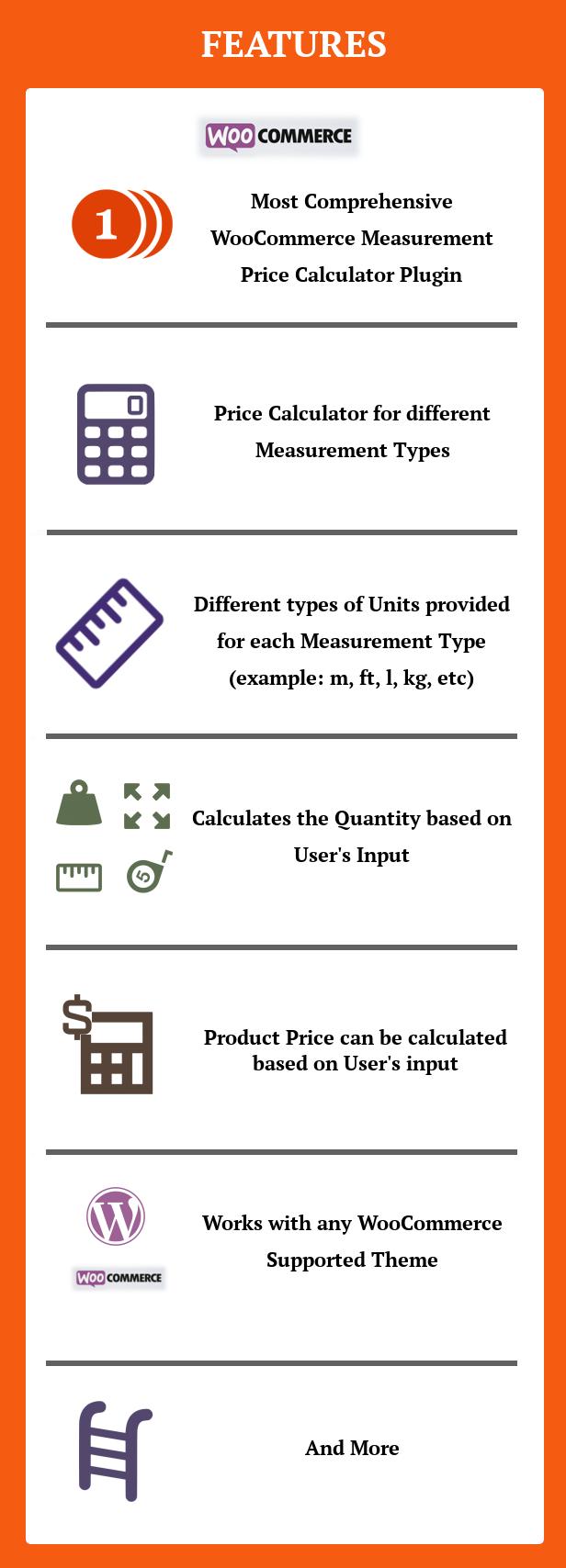 Calculateur de prix de mesure SUMO WooCommerce - 1