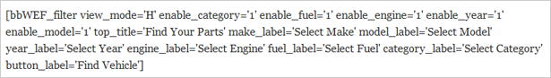 Plugin de moteur et de filtre à carburant WooCommerce - 20