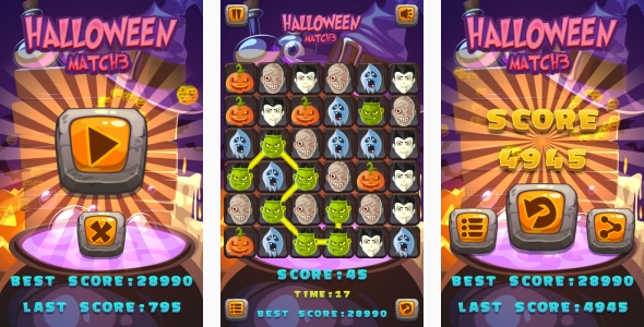 Scary Run - Jeu HTML5 + Android + AdMob (Construct 3 | Construct 2 | Capx) - 21