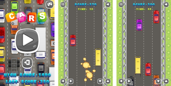 Scary Run - Jeu HTML5 + Android + AdMob (Construct 3 | Construct 2 | Capx) - 25