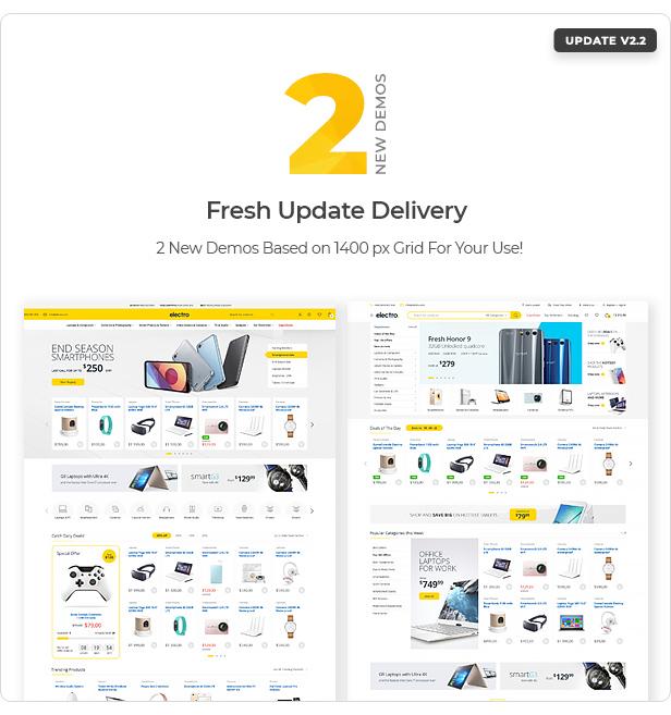 Thème WooCommerce pour Electro Electronics Store - 8