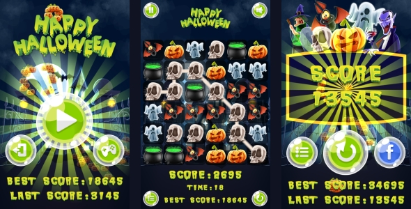 Scary Run - Jeu HTML5 + Android + AdMob (Construct 3 | Construct 2 | Capx) - 7