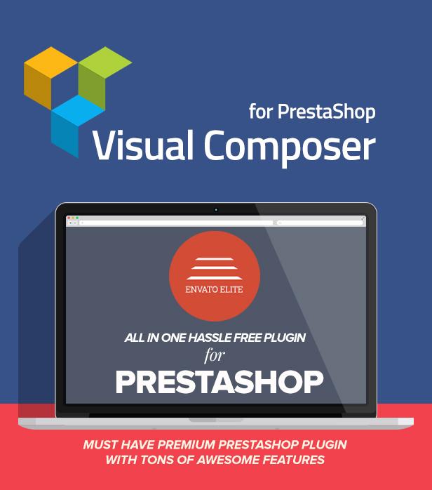 Visual Composer: Page Builder pour Prestashop - 1