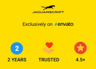 JaguarScript approuvé par Envato