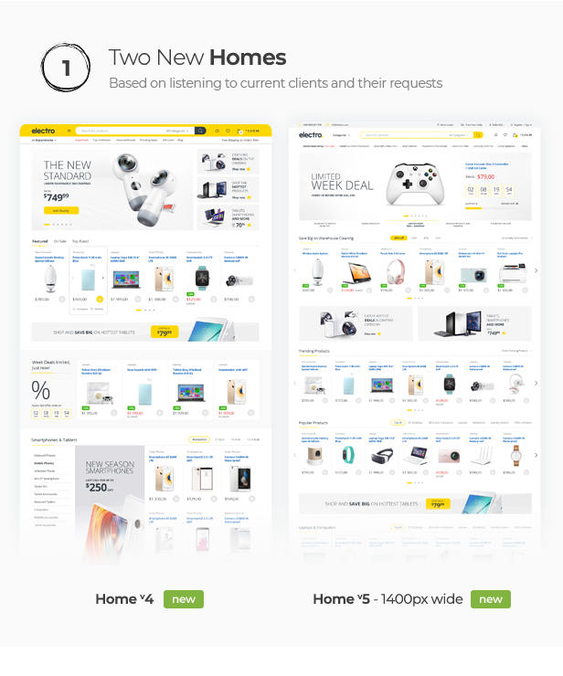 Thème WooCommerce pour Electro Electronics Store - 12