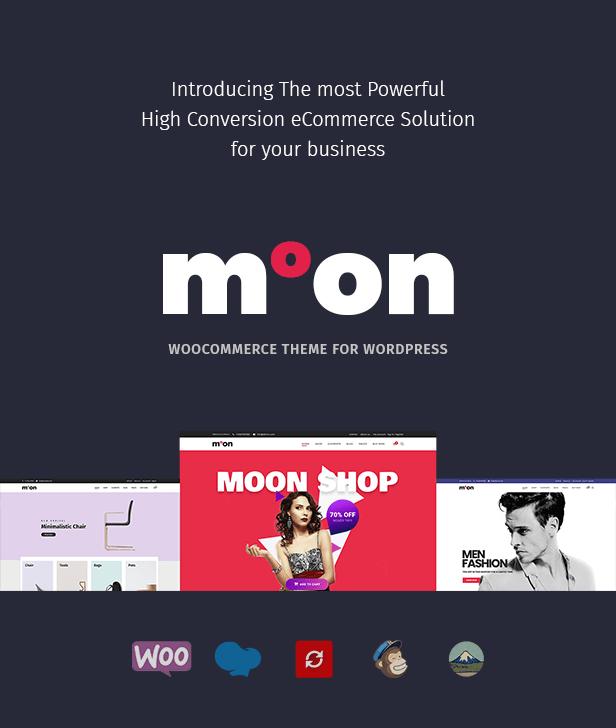 Moon Shop - Thème WordPress de commerce électronique réactif pour WooCommerce - 3