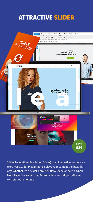 Moon Shop - Thème WordPress de commerce électronique réactif pour WooCommerce - 8