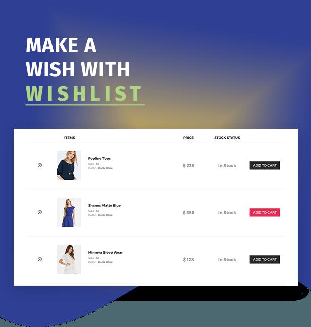 Moon Shop - Thème WordPress de commerce électronique réactif pour WooCommerce - 11