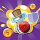 Jeune père Noël - jeu HTML5.  Construct 2 (.capx) + mobile + classement - 58