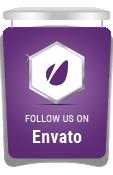 Suivez-nous chez Envato