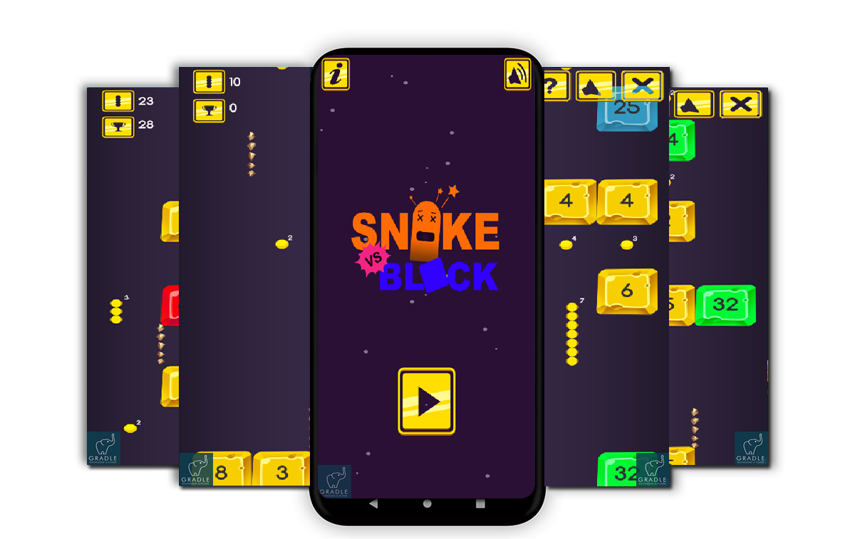 Snake vs Blocks (Vungle + Leaderboard + Android Studio) - 2