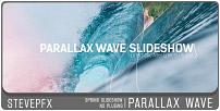 Diaporama Parallax Wave