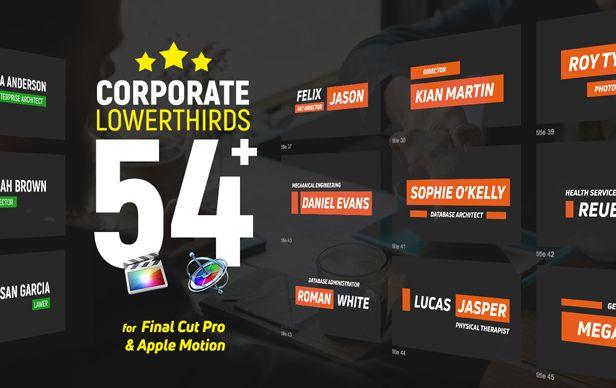 Tiers inférieurs d'entreprise FCPX - 1