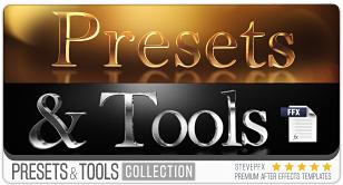 Préréglages et outils