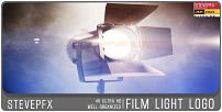 Logo de lumière de film