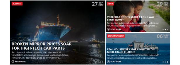 Aujourd'hui - Thème WordPress pour actualités et magazines - 1