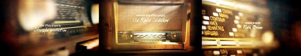 Ancien diaporama radio