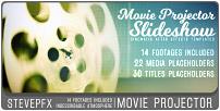 Diaporama de projecteur de film