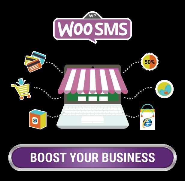 Boostez votre entreprise maintenant WordPress Woo Commerce Plugin de notifications SMS Image