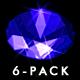 VJ Kaleidoscope - Exotica II - Pack of 7 - 86
