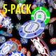 VJ Kaleidoscope - Exotica II - Pack of 7 - 72