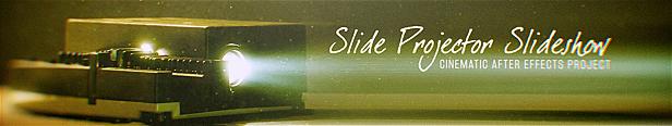 Diaporama du projecteur de diapositives