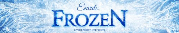 Le logo Frozen Ice And Snow révèle les modèles de titre After Effects