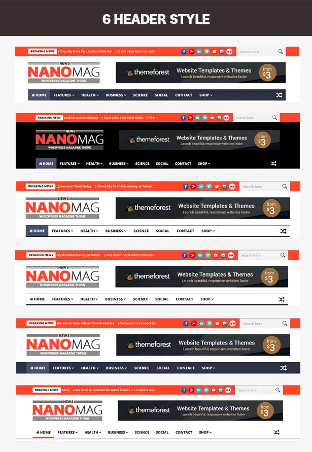 NanoMag - Thème de magazine WordPress réactif - 3