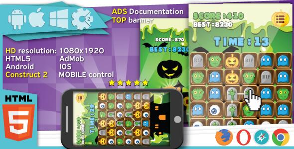 Jeune père Noël - jeu HTML5.  Construire 2 (.capx) + mobile + classement - 13