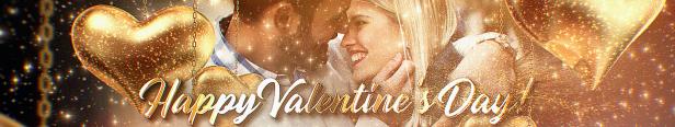 Vidéo de voeux de bonne Saint-Valentin