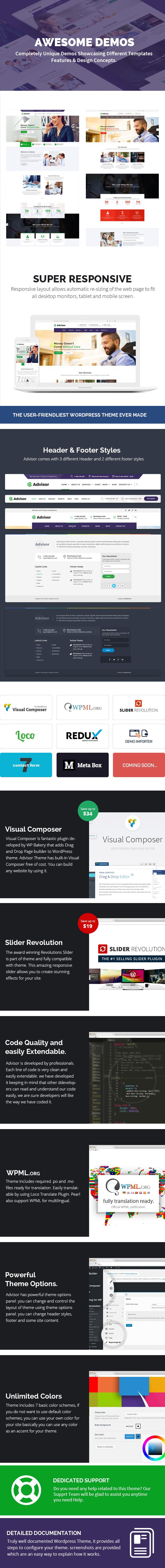 Conseiller    Thème WordPress Consulting, Business, Finance - 6