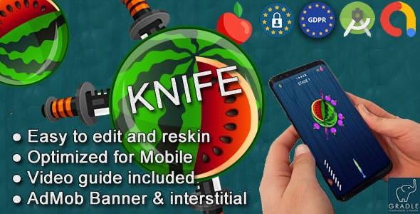 Knife Pizza (Admob + GDPR + Android Studio) - 11