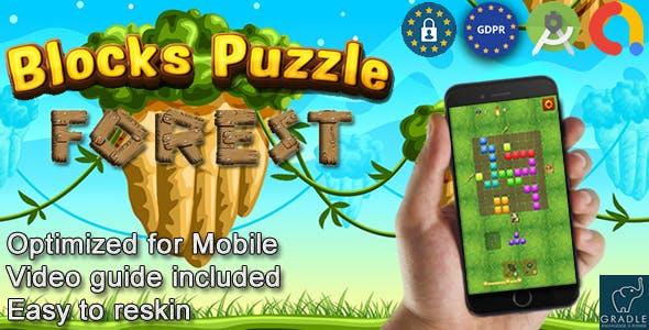 Puzzle Block Wild V5 (Admob + GDPR + Android Studio) - 14