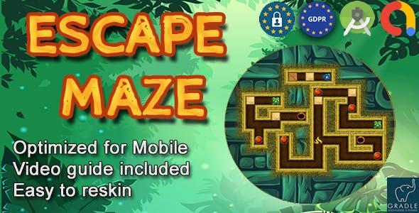 Maze Pirate (Admob + GDPR + Android Studio) - 17