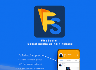 FireSocial |  Réseau social Firebase - 1