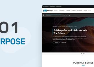 Wpcast - Thème WordPress pour podcast audio - 1
