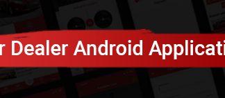 Application Android native pour concessionnaire automobile - Java - 1