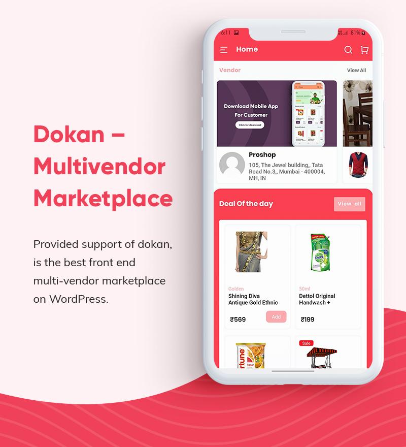 ProShop - WooCommerce Multipurpose Single and Multi-Vendor E-commerce Flutter Full Mobile App - 11