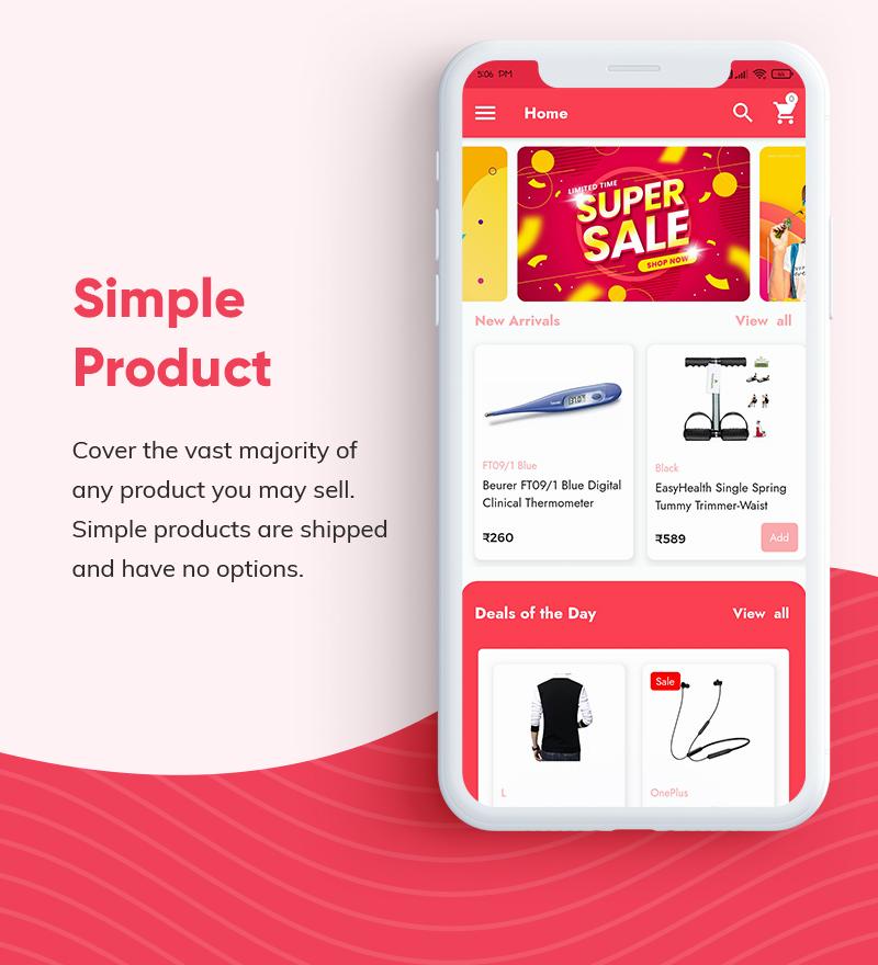 ProShop - WooCommerce Multipurpose Single and Multi-Vendor E-commerce Flutter Full Mobile App - 9