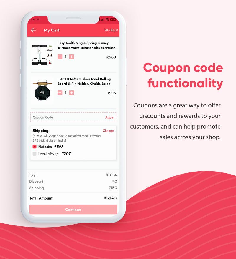 ProShop - WooCommerce Multipurpose Single and Multi-Vendor E-commerce Flutter Full Mobile App - 16