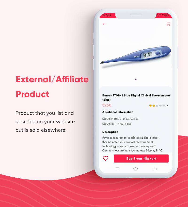 ProShop - WooCommerce Multipurpose Single and Multi-Vendor E-commerce Flutter Full Mobile App - 19