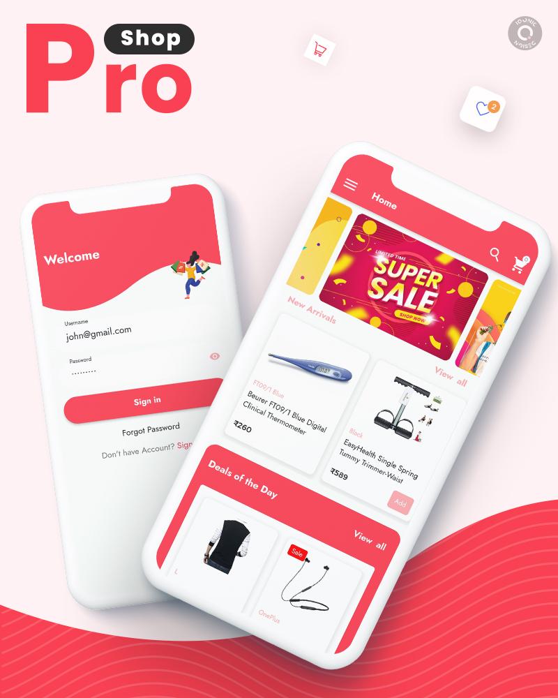 ProShop - WooCommerce Multipurpose Single and Multi-Vendor E-commerce Flutter Full Mobile App - 5