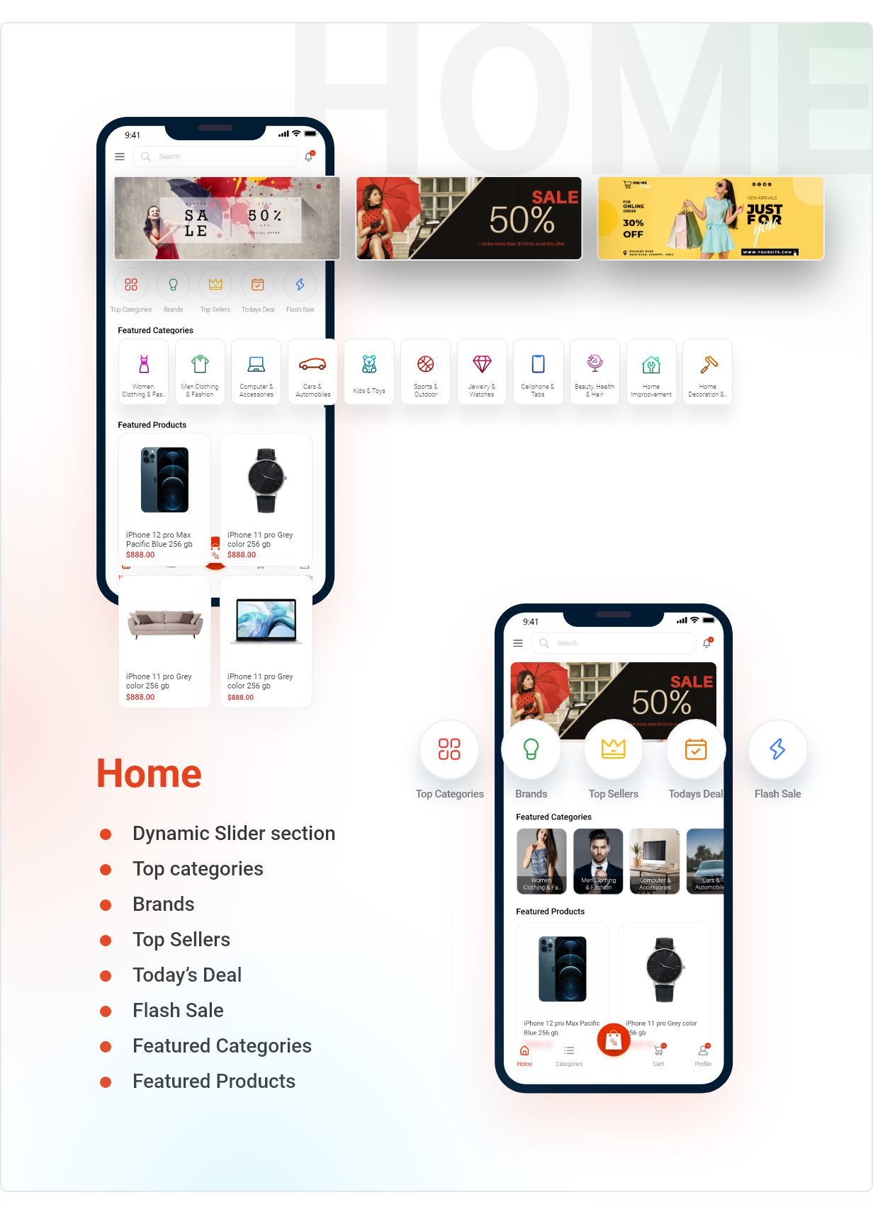 Application Flutter de commerce électronique active - 5
