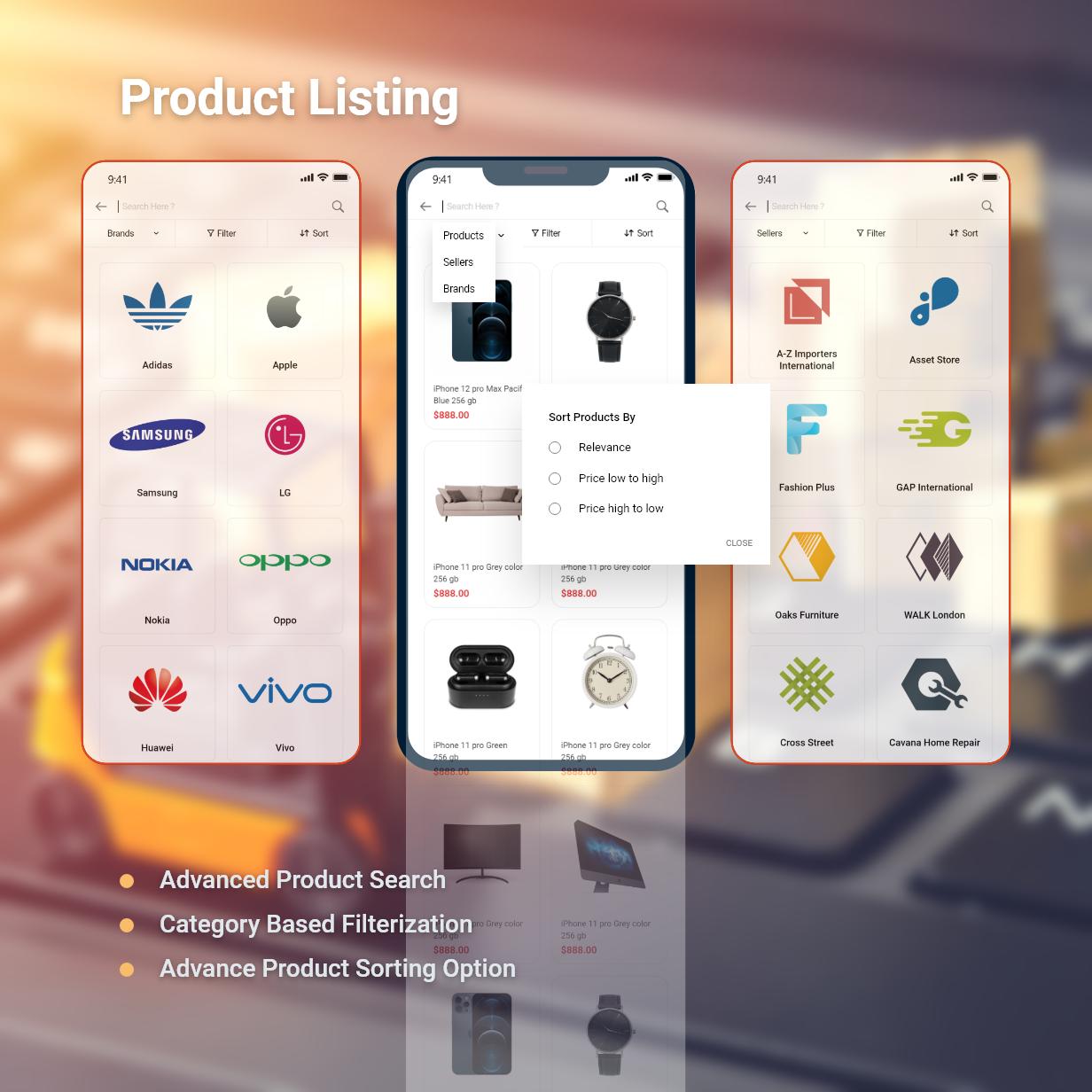 Application Flutter de commerce électronique active - 6