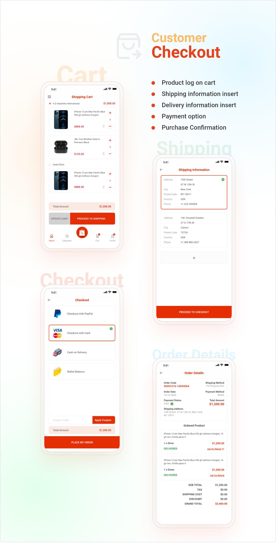 Application Flutter de commerce électronique active - 10