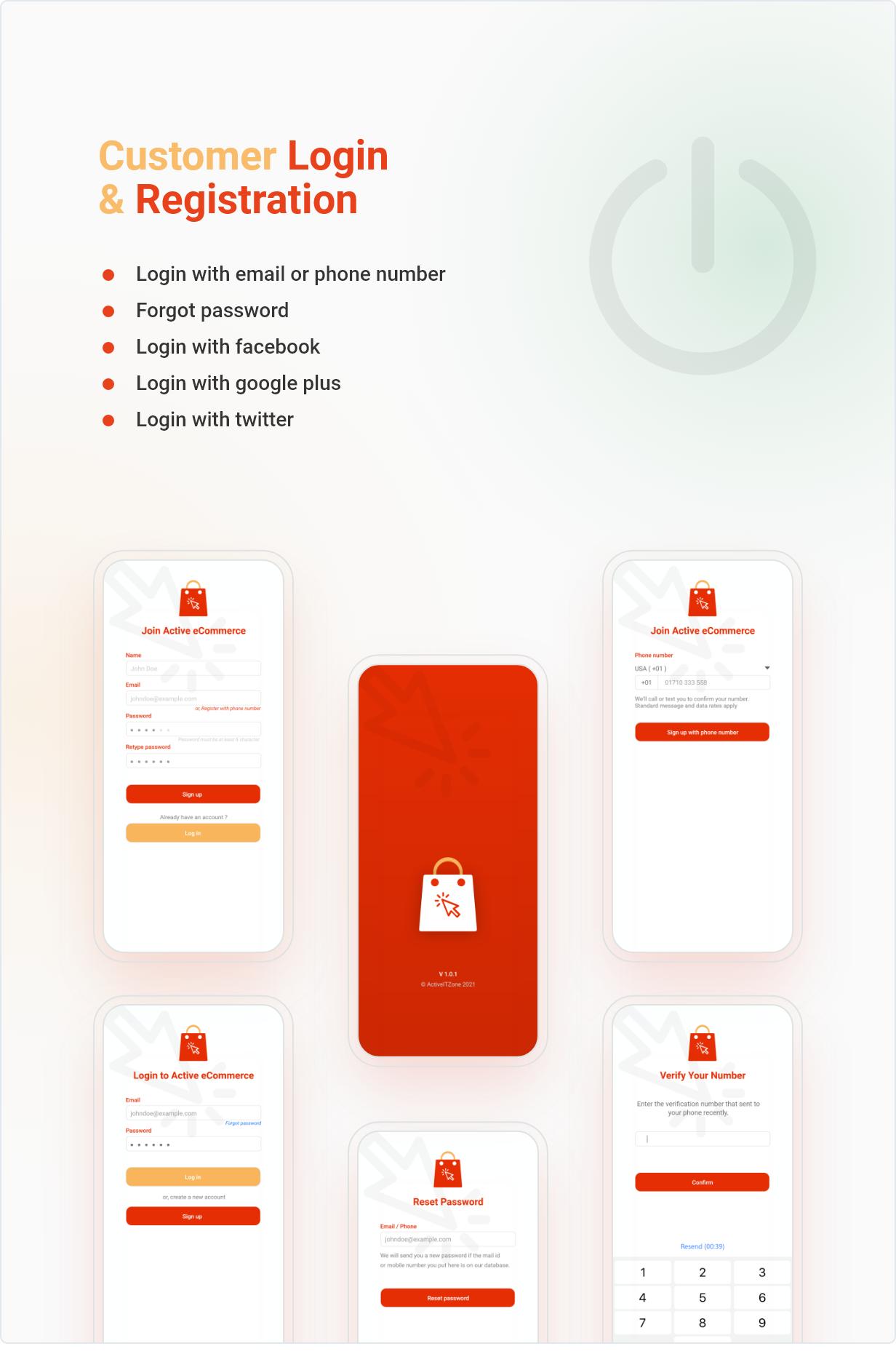 Application Flutter de commerce électronique active - 8