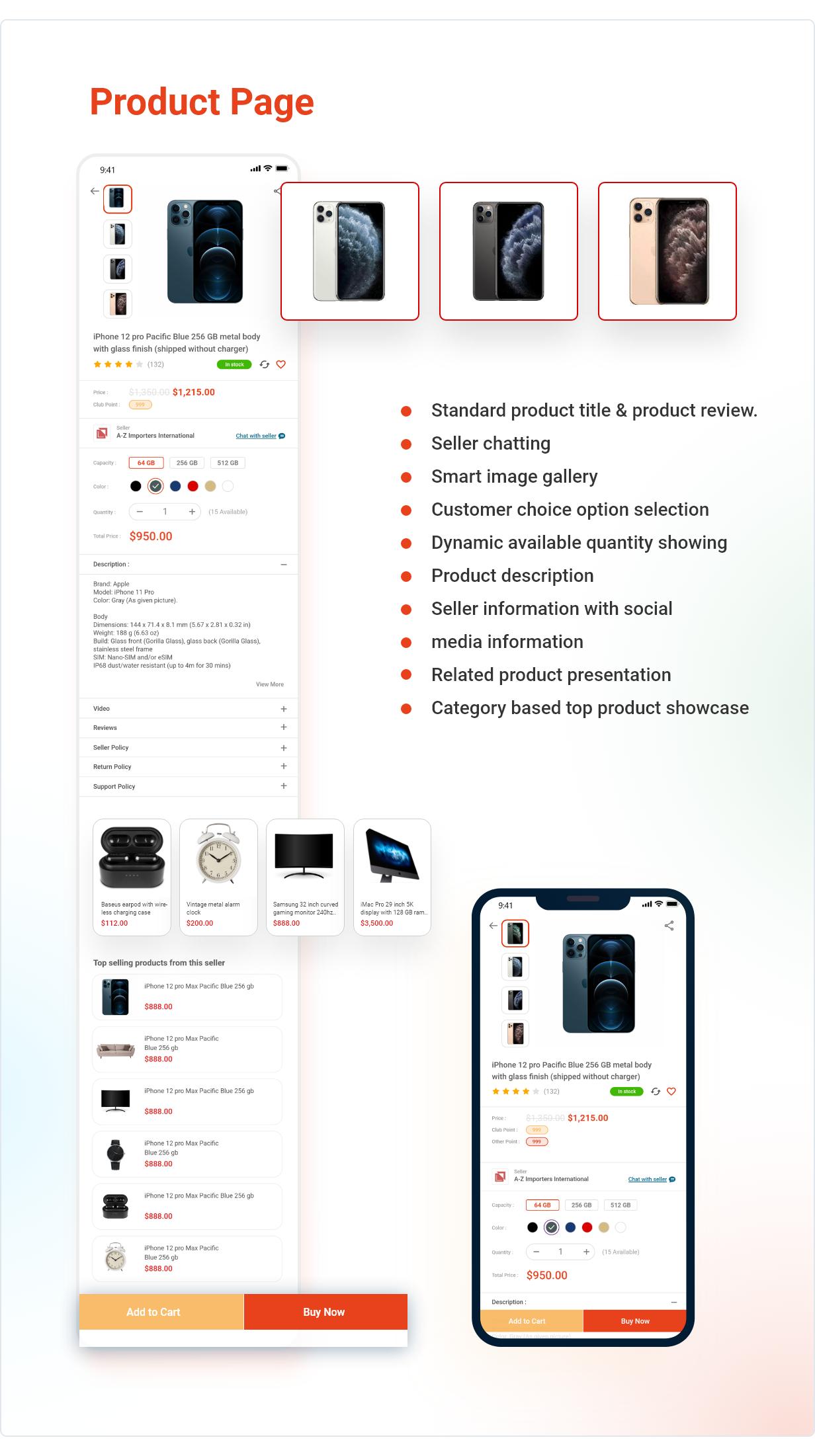 Application Flutter de commerce électronique active - 7